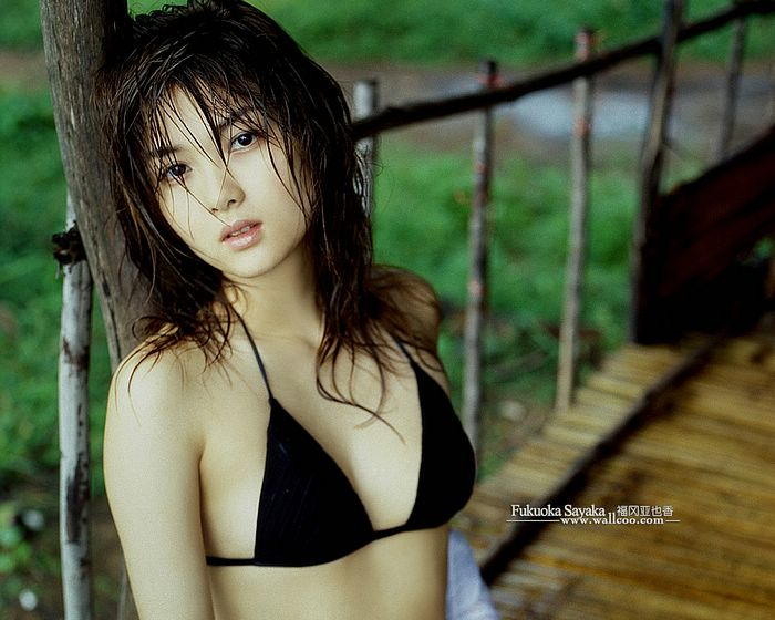 Fukuoka Sayaka Hot Sexy Celebrities Japanese Gravure Girls