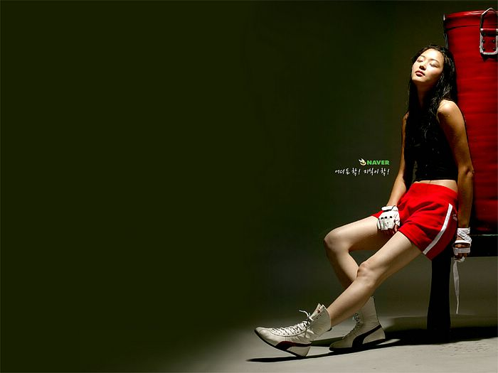 Jun Ji Hyun boxing wallpaper 1600*1200 7 - Wallcoo.