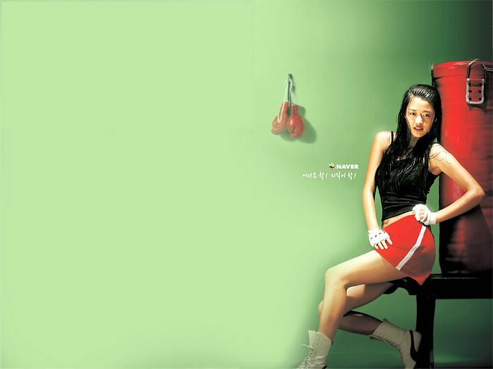Jun Ji Hyun boxing wallpaper 1600*1200 8 - Wallcoo.