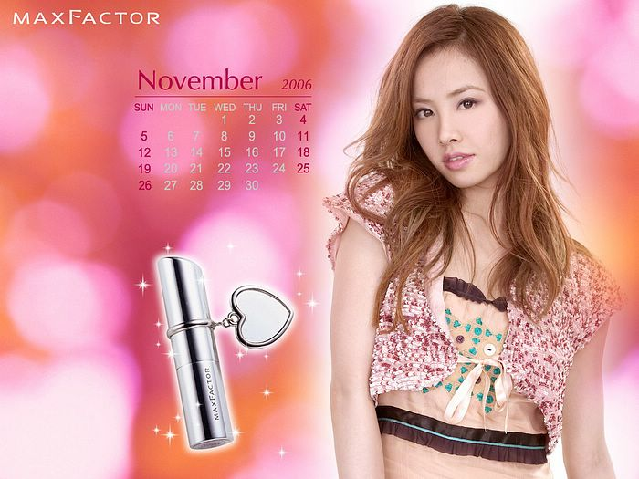 jolin tsai wallpaper. Jolin's Maxfactor lip stick advertisement wallpapers: Jolin Tsai's Maxfactor