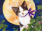 Artbook Scans: Kittens Art Pinting by Jane Maday 14 pics