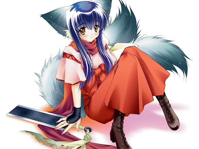 Tail Tale Game Cute Anime Cat Girl Wallpapers 1600x1200 28