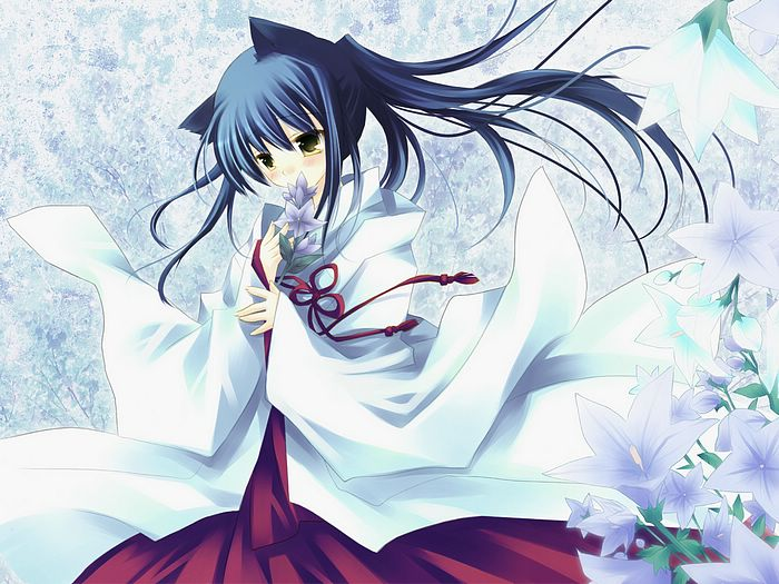 Anime Characters Are Japanese : Wizard girl beautiful anime girls wallpaper