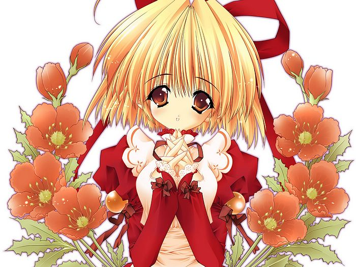 Drain Cherry Artworks Cute Anime Girl Stera Arista Wallpaper 9