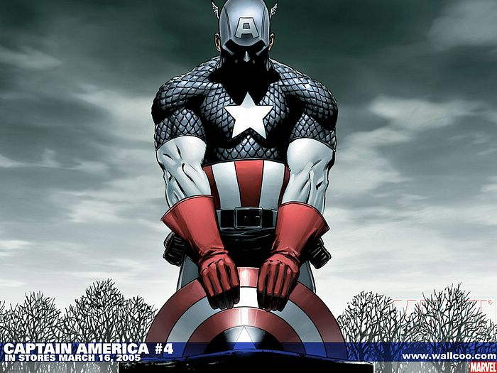 Marvel Comics : Captain America Wallpapers - Captain America Comic #4 Wallpaper 8