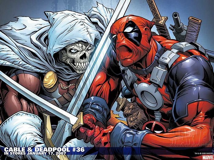 Cable Deadpool 36 Marvel Comics Wallpaper 6 Wallcoonet