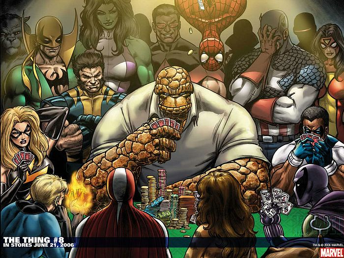 The Thing #8 - Marvel Comics Wallpaper 34 - Wallcoo net
