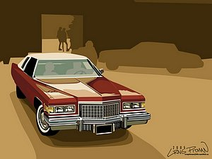 Vector Design Of Antique Vehicles Antique Cars Wallcoonet - Classic car design