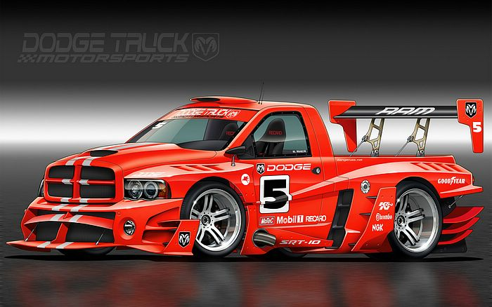Car Design 1680*1050 - 1680*1050 Dodge Truck HFS Edition Wallpaper 4