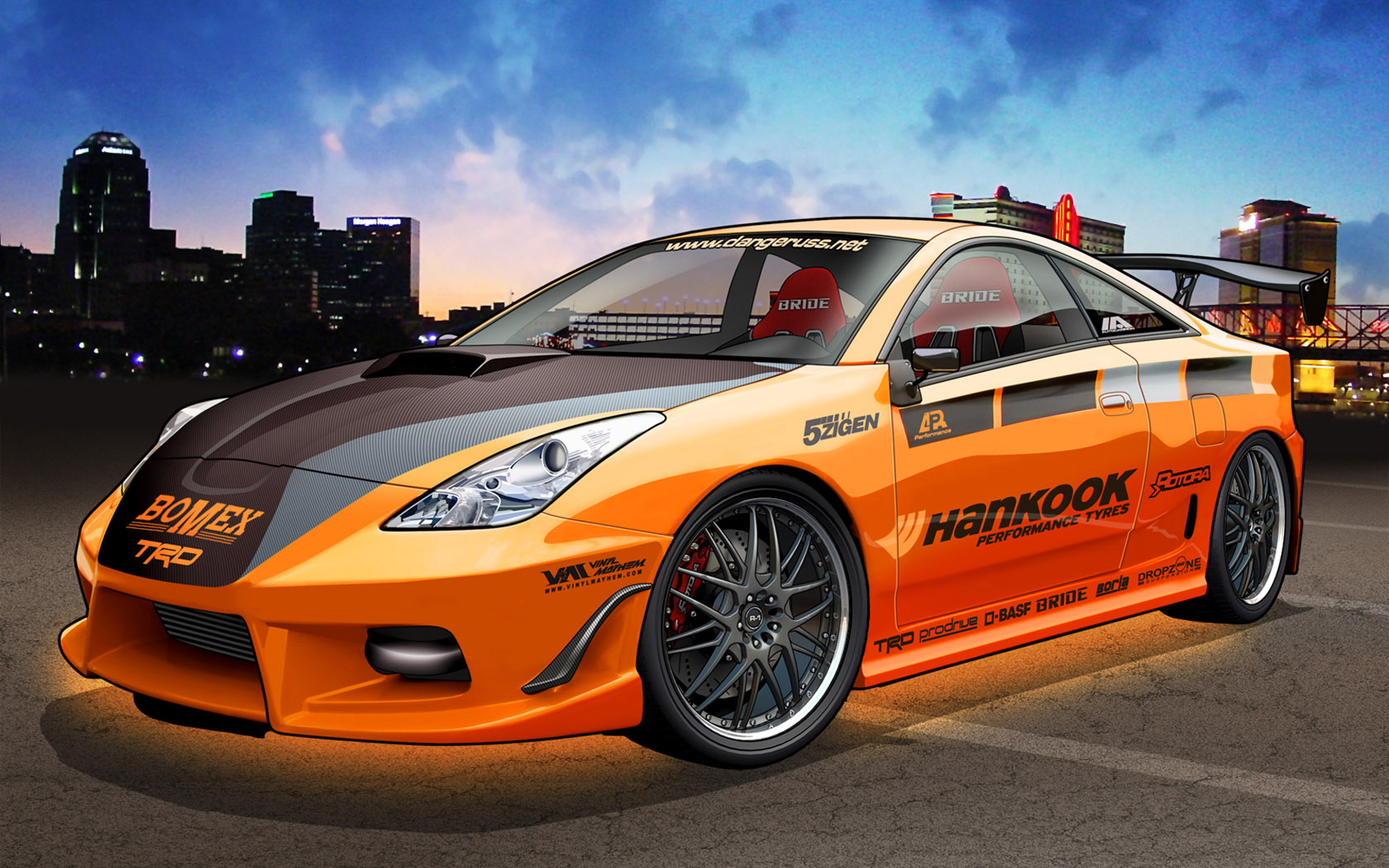 Vehicle Graphics   Car Digital Drawing 1680*1050 NO.34 Wallpaper