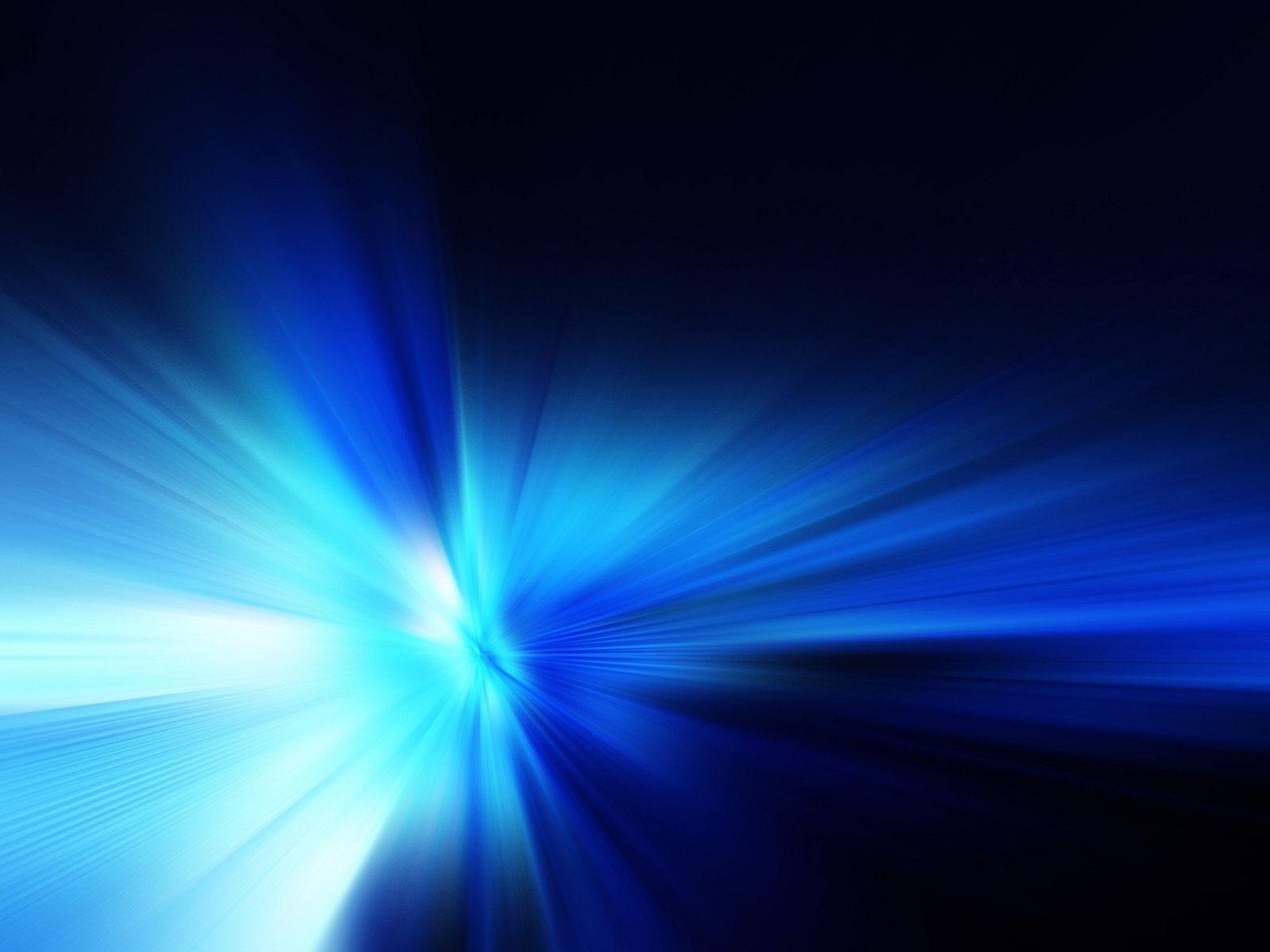 3d Light Effects Ppt Background: HD Abstract Blue Background