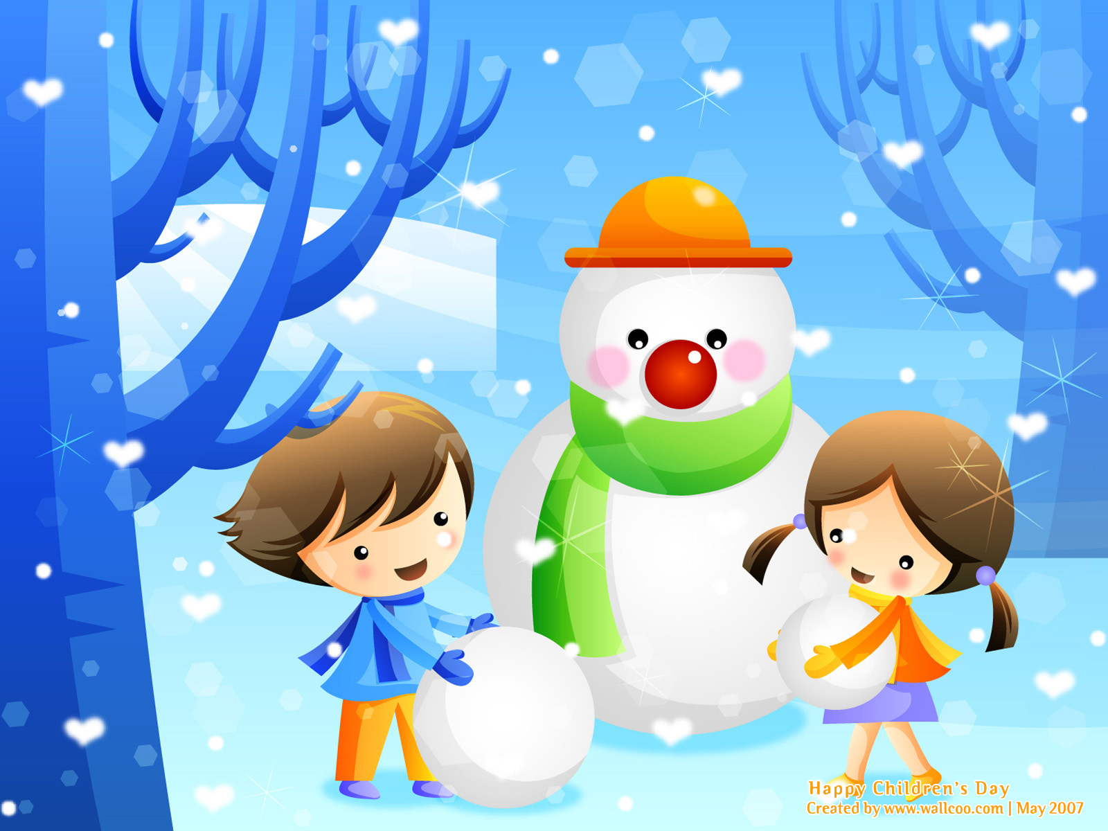 Colourful illustrations for children s day 1600 1200 no 12 wallpaper