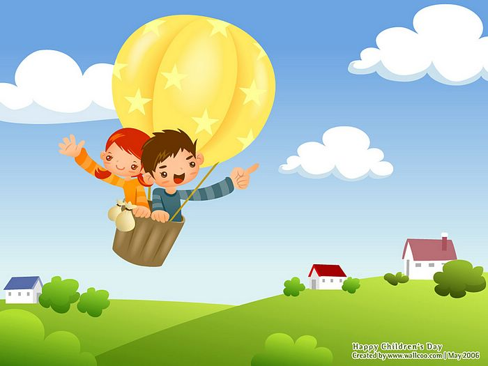 childrenss day illustrations lovely playpals children characters wallpepr of children day 7 - Children Cartoon Pictures