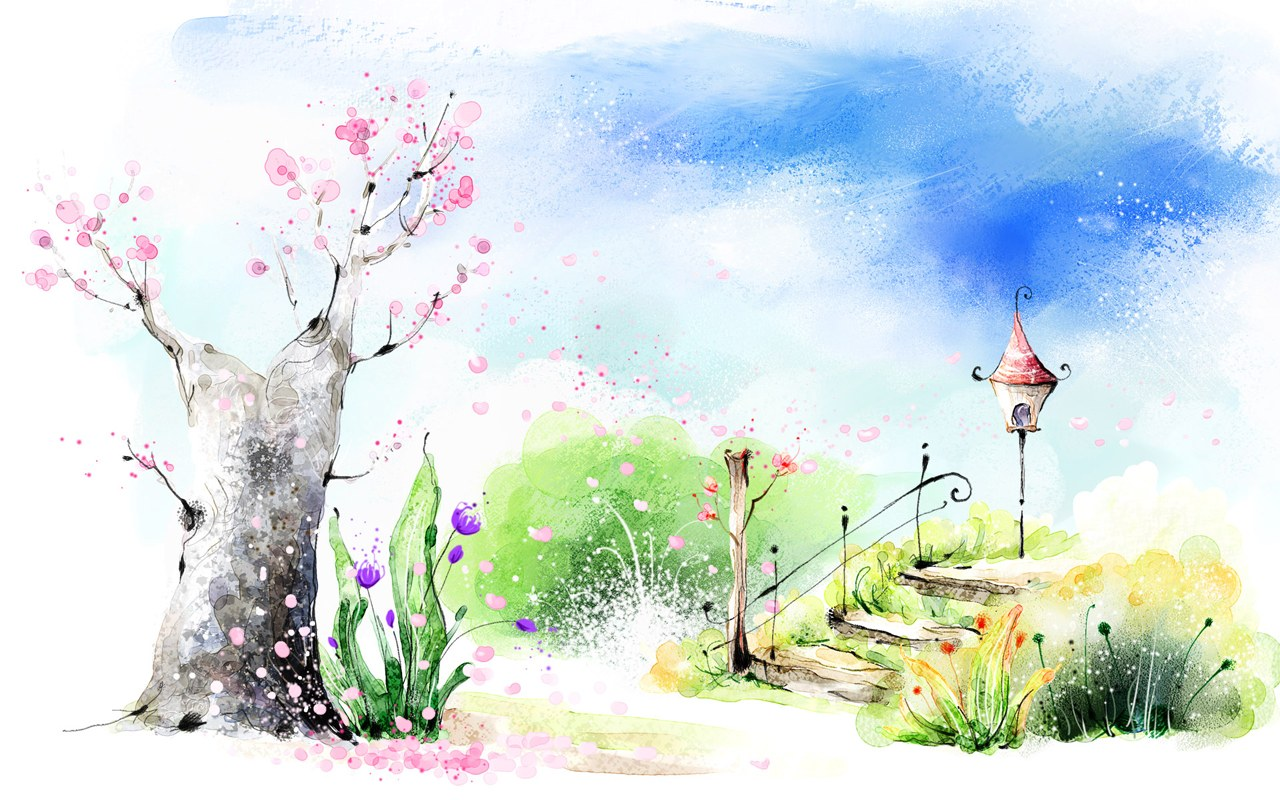 Romantic Art Wallpaper Art Drawing Romantic Scene