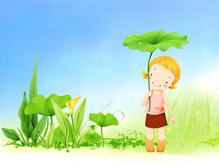 wallpaper cartoon. Girl Cartoon Wallpaper