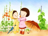 Children''s Day and  Childhood Fun�� Kim Jong Bok Illustrations (Vol.07)30 pics