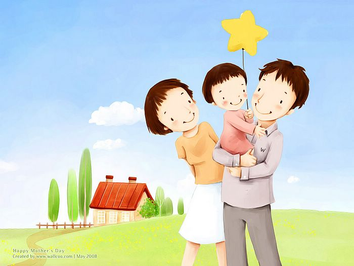 http://www.wallcoo.net/cartoon/Mother_day_Lovely_Children_illustraion/images/Lovely_illustration_of_Happy_family_in_field_2_wallcoo.com.jpg