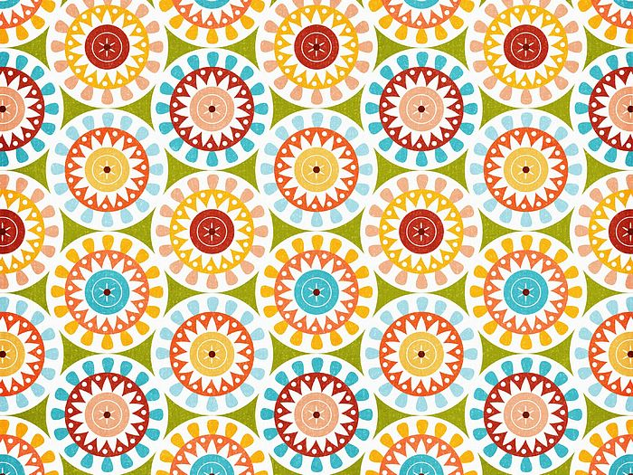 ... : Summer Fun - Art Paper Patterns : Fun in the sun Background 2