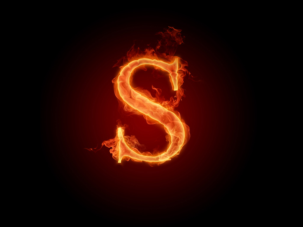 Fire Fonts - Fiery Letters and Fiery Numbers 1024x768 NO ...