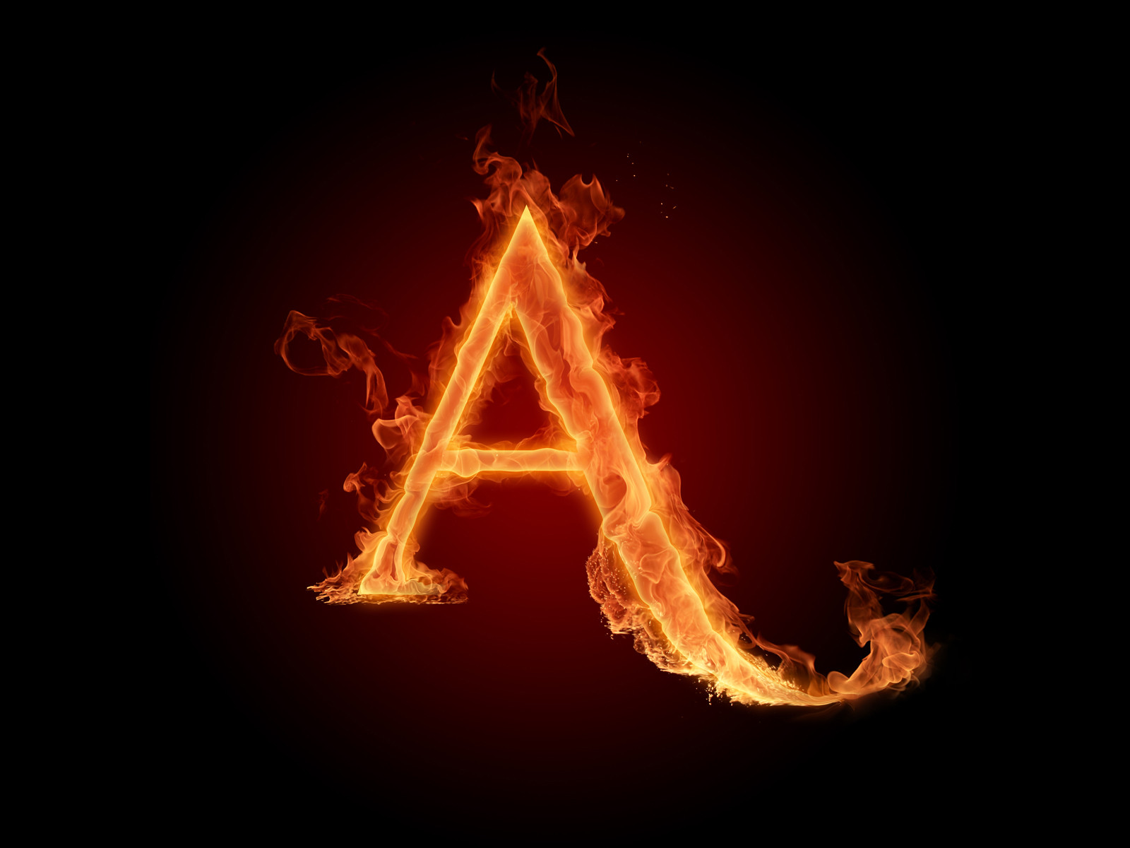 Hd Fire Fonts Fiery Letters And Fiery Numbers 1600x1200