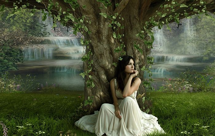 Fantasy Girls by Photo manipulation  - Summer Girl - Fantasy Girls by Photo Manipulation, 1920*1200 23