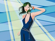 100 Vector Fashion Girl Illustrations100 pics