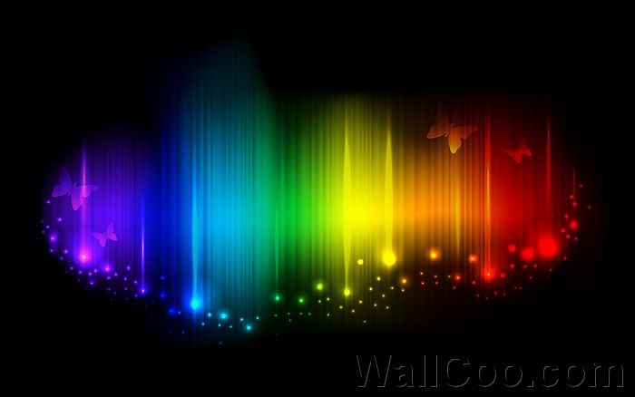 Abstract Cool Rainbow Backgrounds