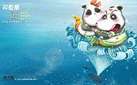 Signs wallpapers 9 pisces cartoon pisces zodiac sign character