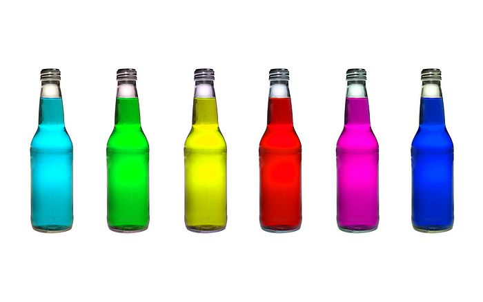 Creative Design Bottles With Colorful Fluid Picture 32 Wallcoo Net