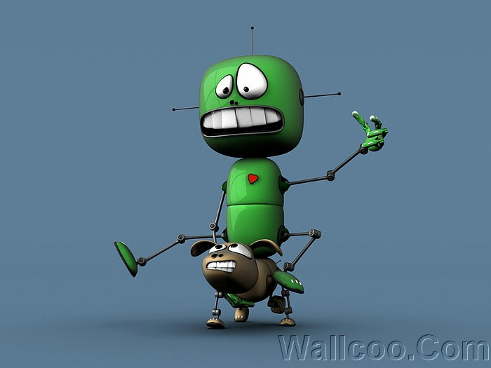 funny cartoon characters. Funny 3D artwork and Cartoon