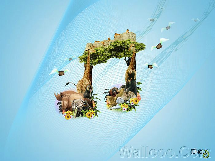 Unique Digital designs and manipulations Wallpaper 11 Wallcoonet