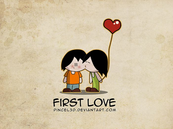 First Love, Lover wallpaper1 - Wallcoo.net