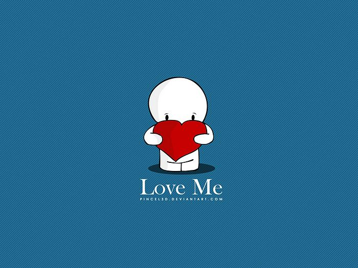Love me lovely valentine 39 s day wallpaper 18 - Cartoon valentine wallpaper ...