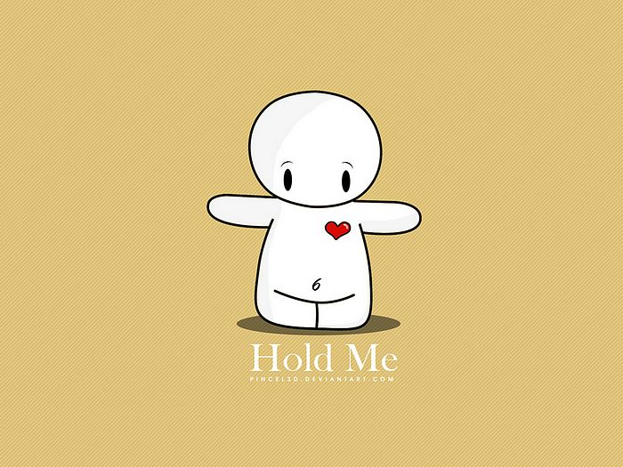 Hold me cute valentine vector cartoon character 9 - Cartoon valentine wallpaper ...