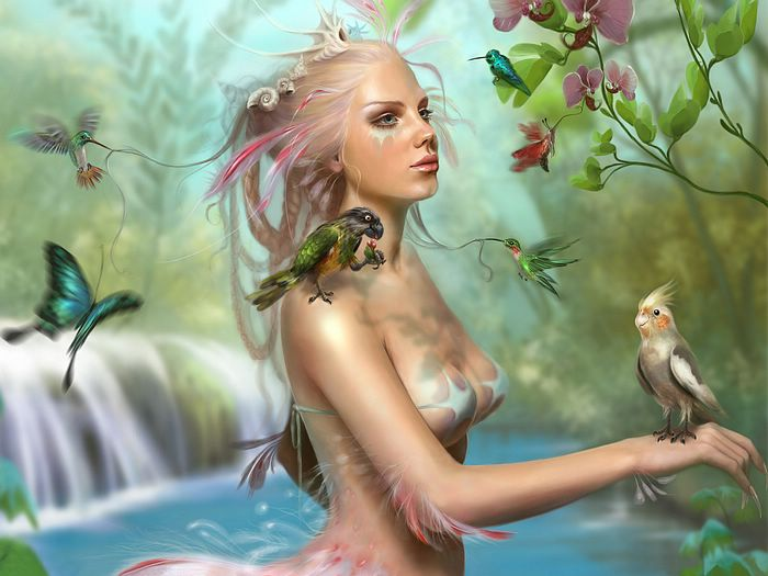 Fantasy CG Girls Wallpapers by World Class CG Artists ( Vol.4 )  - Amazing Art CG Girls Wallpaper - Digital Art Fantasy 1920x1200 4