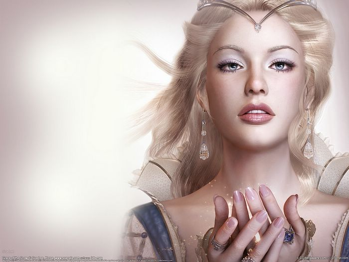 female wallpaper. CG Artwork Girl Wallpaper