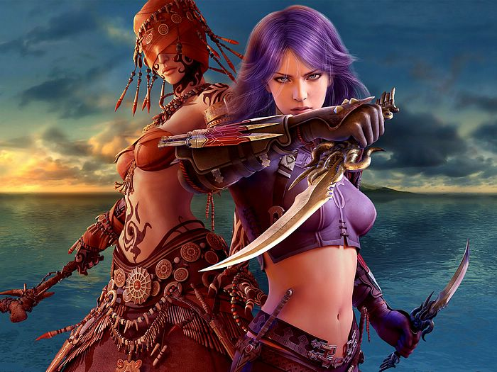 wallpaper women fantasy. of Fantasy Female CG