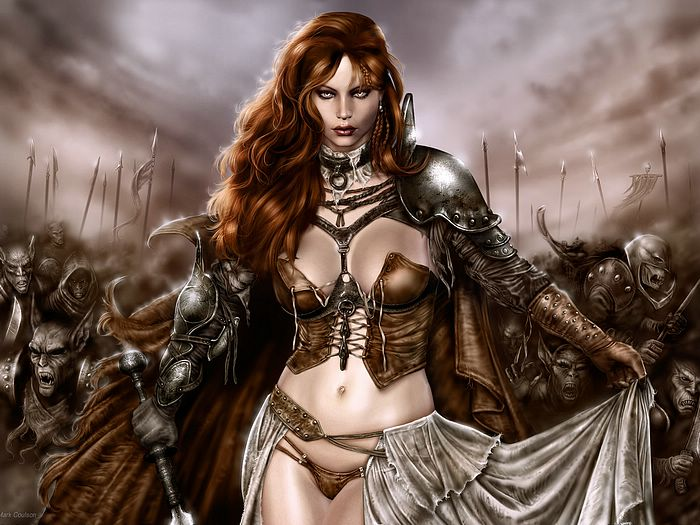 wallpaper women art. images Fantasy Women Art