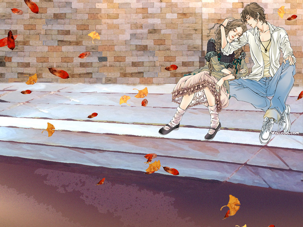 Romantic Love Nona Illustrations NO 8 Desktop