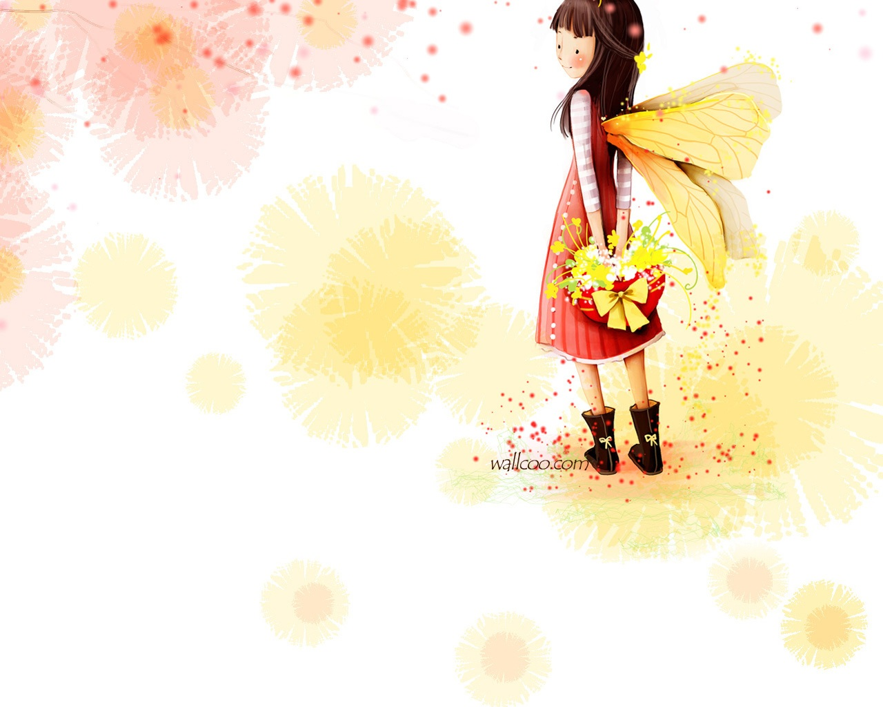 pics photos cute girl cartoon wallpaper