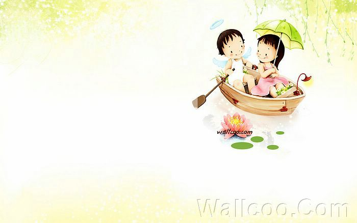 Couples Art Illustration Valentine Day Sweet thumb