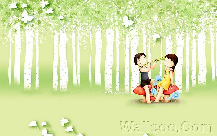 cute lovers wallpapers. Wallpaper 、Puppy love,
