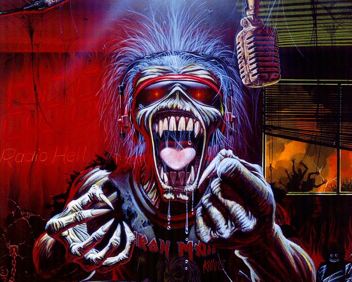 Heavy Metal and Gothic Art - Iron Maiden Album Cover Art Wallpapers - Eddie ...