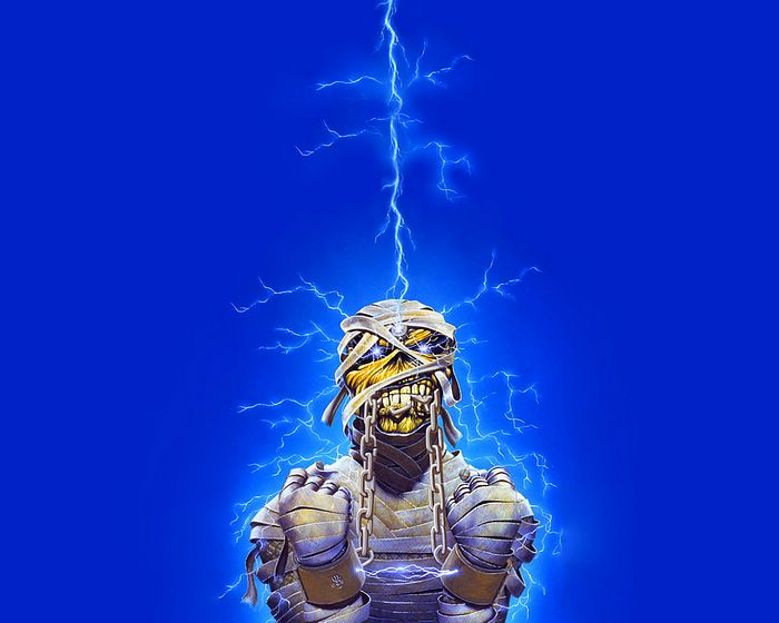 Art - Iron Maiden Album Cover Art Wallpapers :World Savery Tour - Iron ... Iron Maiden Trooper Wallpaper