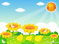 Vector illustrations of Springtime15 pics