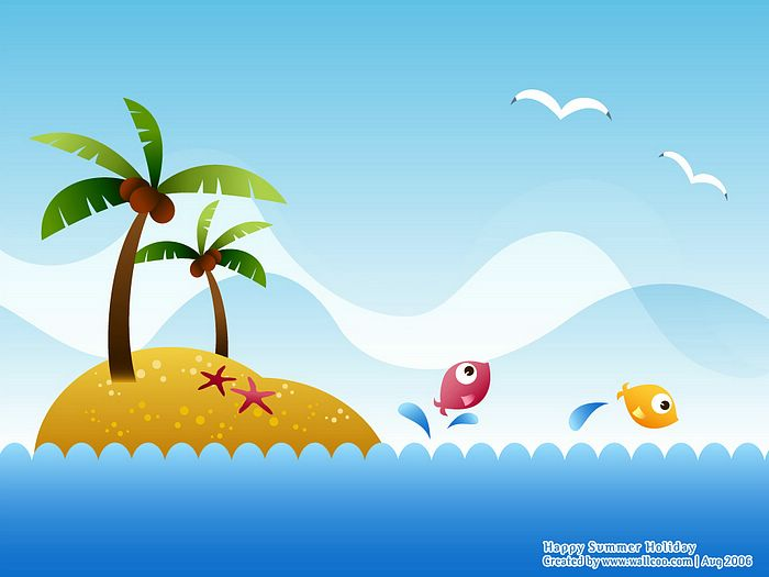 summer vector illustraitons - photo #41