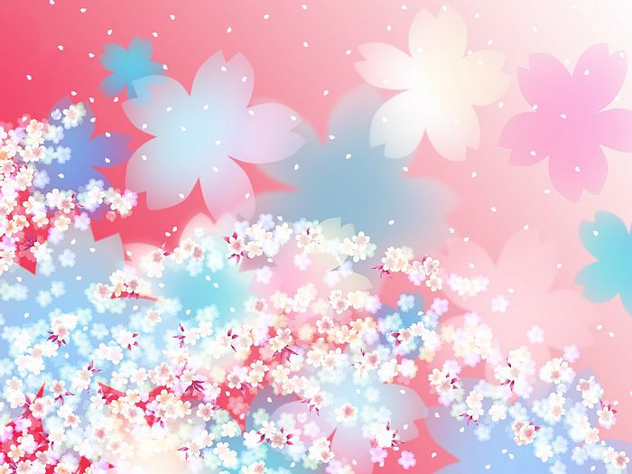 Sweet cherry blossom floral design background 19201600 1 sweet floral pattern design colors in japanese stylevol01 sweet mightylinksfo