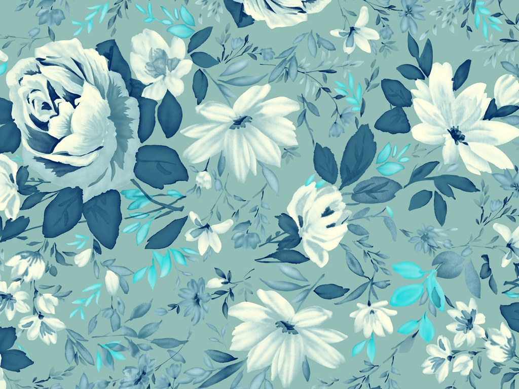 Simple flower wallpaper patterns - photo#27