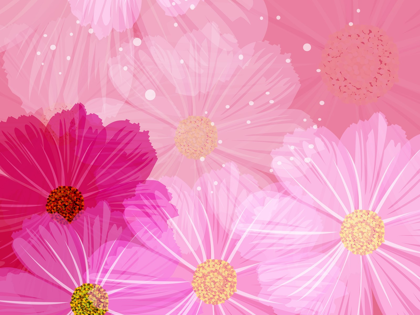 ... Pattern - Flower Design - Floral Background 1600*1200 Wallpaper 39