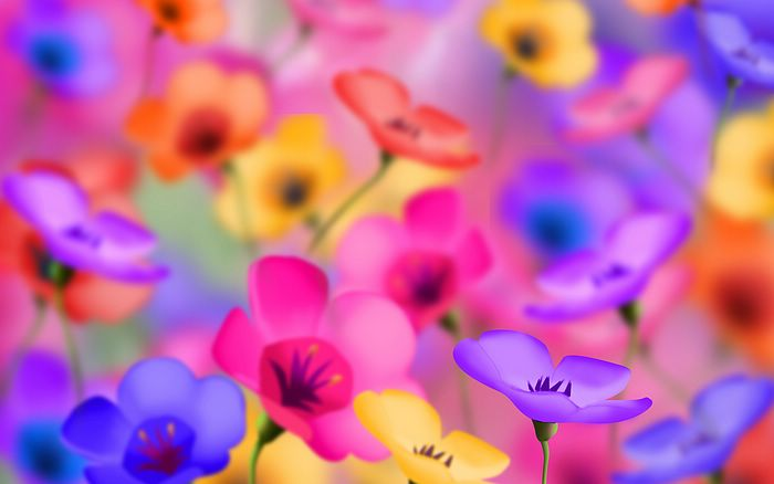 flowers background images. Digital Flowers Background